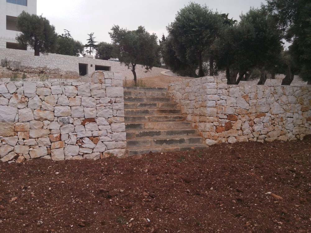 Realizzazione opere murarie in pietra